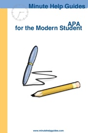 APA for the Modern Student - Minute Help Guides