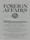Foreign Affairs - Summer 1979