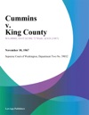 Cummins V King County