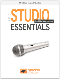 Music Studio Essentials book