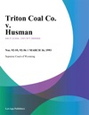 Triton Coal Co V Husman