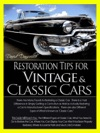 Restoration Tips For Vintage  Classic Cars