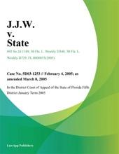 J.J.W. V. State