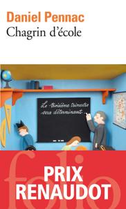 Chagrin d'école La couverture du livre martien
