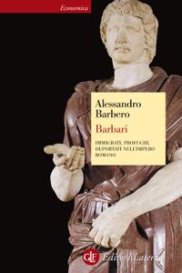 Barbari Copertina del libro