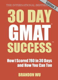 30 Day GMAT Success Edition 3 book