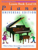 Alfred's Basic Piano Course: Lesson 1A (Universal Edition)