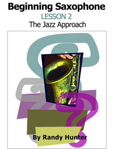 Beginning Saxophone Lesson 2 - The Jazz Approach Buch-Cover