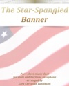 The Star-Spangled Banner Pure Sheet Music Duet For Viola And Baritone Saxophone