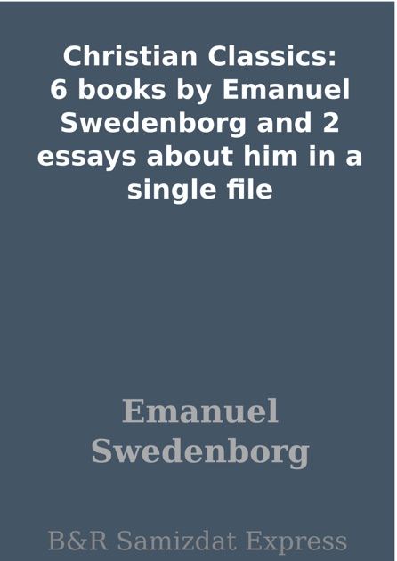 swedeborg christian singles Swedenborg's books emanuel swedenborg, an eighteenth century theologian and scientist new christian bible study.