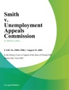 Smith V Unemployment Appeals Commission