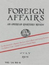Foreign Affairs - July 1976