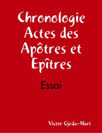 Chronologie, Actes des apôtres et Epîtres