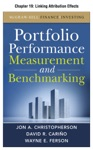 Portfolio Performance Measurement And Benchmarking Chapter 19 - Linking Attribution Effects