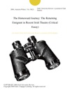 The Homeward Journey The Returning Emigrant In Recent Irish Theatre Critical Essay