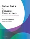 Dalton Buick V Universal Underwriters