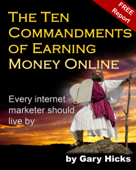 The Ten Commandments of Earning Money Online