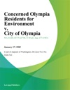 Concerned Olympia Residents For Environment V City Of Olympia