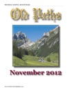 Old Paths November 2012