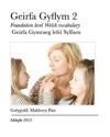 Geirfa Gyflym 2 - Sylfaen