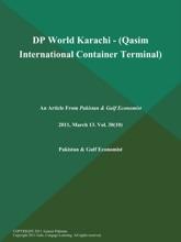 DP World Karachi - (Qasim International Container Terminal)