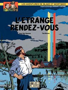 Blake & Mortimer - tome 15 - L'Étrange rendez-vous La couverture du livre martien