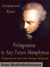 Prolegomena To Any Future Metaphysics