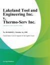Lakeland Tool And Engineering Inc V Thermo-Serv Inc