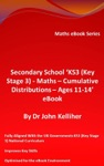 Secondary School KS3 Key Stage 3  Maths  Cumulative Distributions  Ages 11-14 EBook