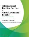 International Turbine Service V Amos Lovitt And Touche