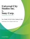 Universal City Studios Inc V Sony Corp
