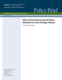 NATO and the Economy-Security Nexus: Reflections on a New Strategic Calculus book