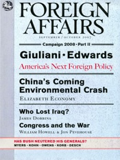 Download and Read Online Foreign Affairs - September/October 2007