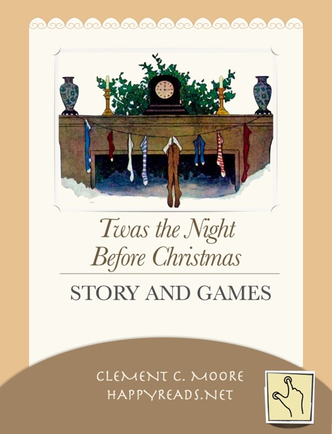 Twas the Night Before Christmas. Story and Games
