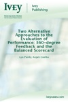 Two Alternative Approaches To The Evaluation Of Performance 360-degree Feedback And The Balanced Scorecard