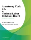 Armstrong Cork Co V National Labor Relations Board
