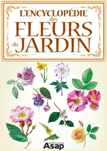 L'encyclopédie des fleurs du jardin La couverture du livre martien