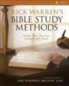 Rick Warrens Bible Study Methods