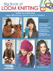 Big Book of Loom Knitting Book Cover
