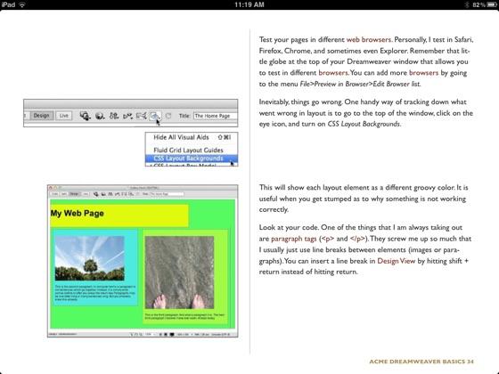 ACME Dreamweaver CS6 (+5 5 & 5) Basics on Apple Books