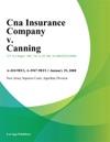 Cna Insurance Company V Canning
