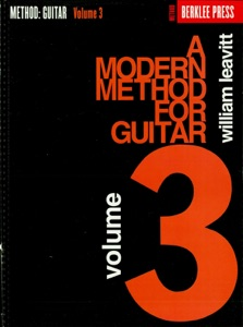 A Modern Method for Guitar - Volume 3 (Music Instruction) Book Cover