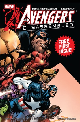 Avengers: Disassembled #1 book cover