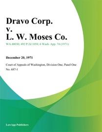 DRAVO CORP. V. L. W. MOSES CO.