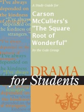 A Study Guide For Carson McCullers's