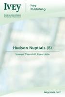 Hudson Nuptials (B)