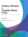 Lindsey Mcinnes V Yamaha Motor Corp