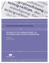 The Impact Of The Sarrazin Debate On The German Publics Views On Immigration