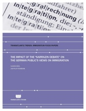 """The Impact Of The """"Sarrazin Debate"""" On The German Public's Views On Immigration"""