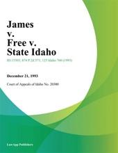 James V. Free V. State Idaho